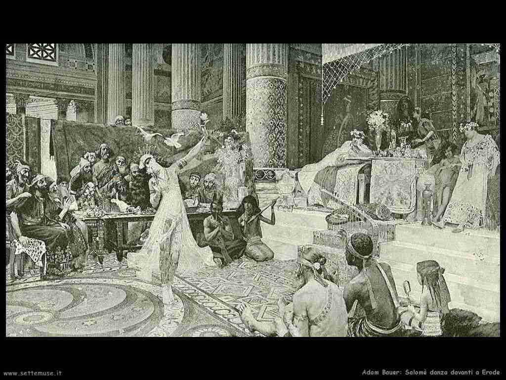 Salomè danza da Erode