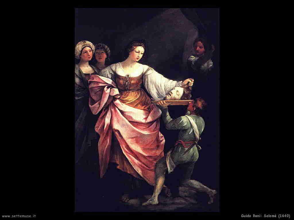 Guido Reni (1640) Salomè