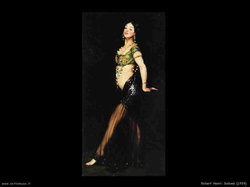 robert_henri salome 1909