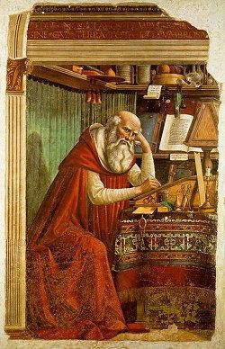 Storia di San Girolamo - Ghirlandaio