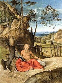 Storia di San Girolamo - Lorenzo Lotto