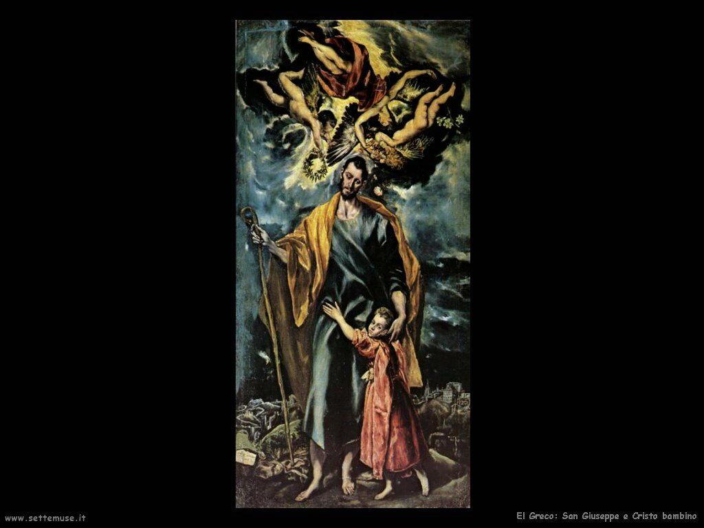 San Giuseppe di el greco