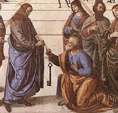 san Pietro le chiavi da Cristo