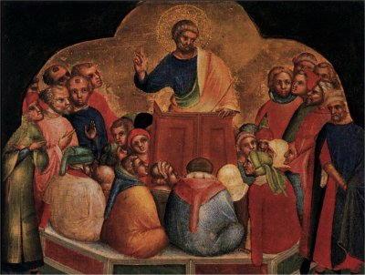 veneziano lorenzo predica apostolo pietro