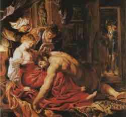 Sansone e Dalila di Rubens