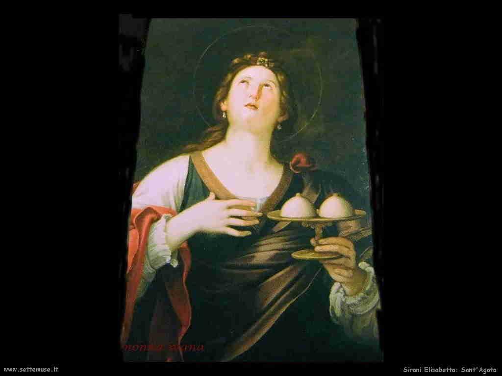 Sirani Elisabetta Sant'Agata