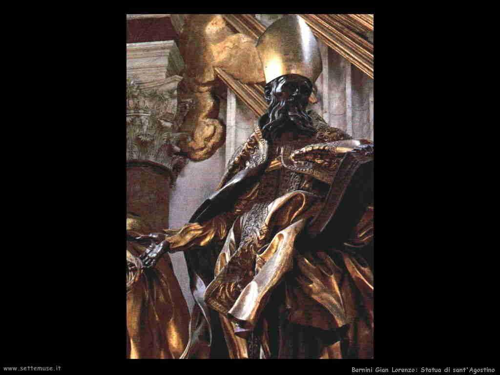 Bernini: statua di sant'Agostino