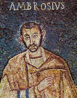 Sant'Ambrogio mosaico