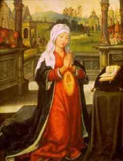 Anna in attesa di Maria