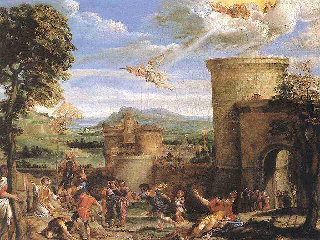 Carracci Martirio di Santo Stefano 1604