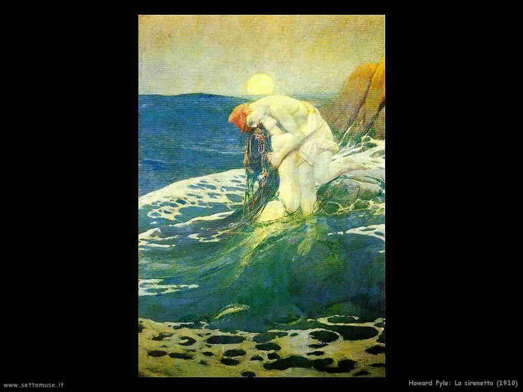 howard_pyle la_sirenetta 1910