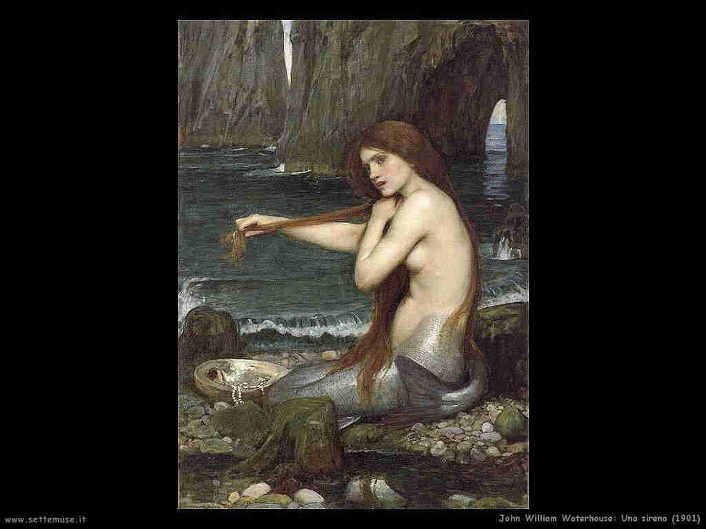 john_william_waterhouse una_sirena 1901