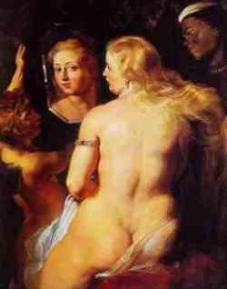 Venere allo specchio di Rubens