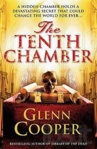 Copertina del libro The tenth chamber, Glenn Cooper