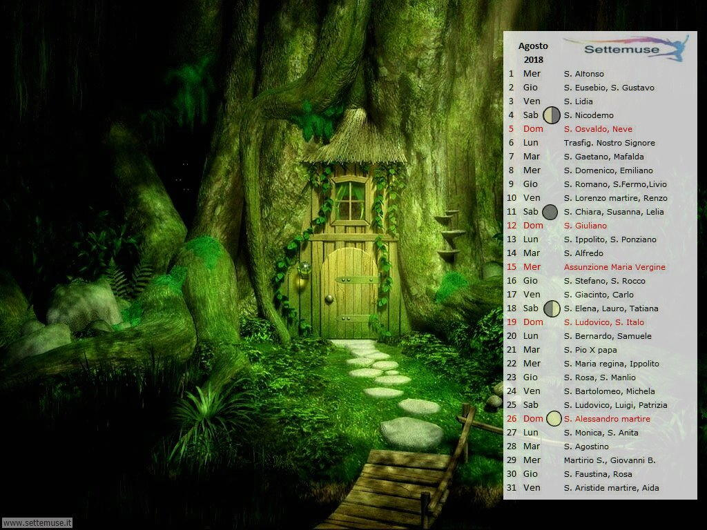 calendario Digital Fantasy 8