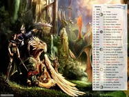 Calendario con foto Digital Fantasy ottobre