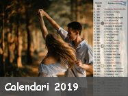 calendari per sfondi desktop 2019