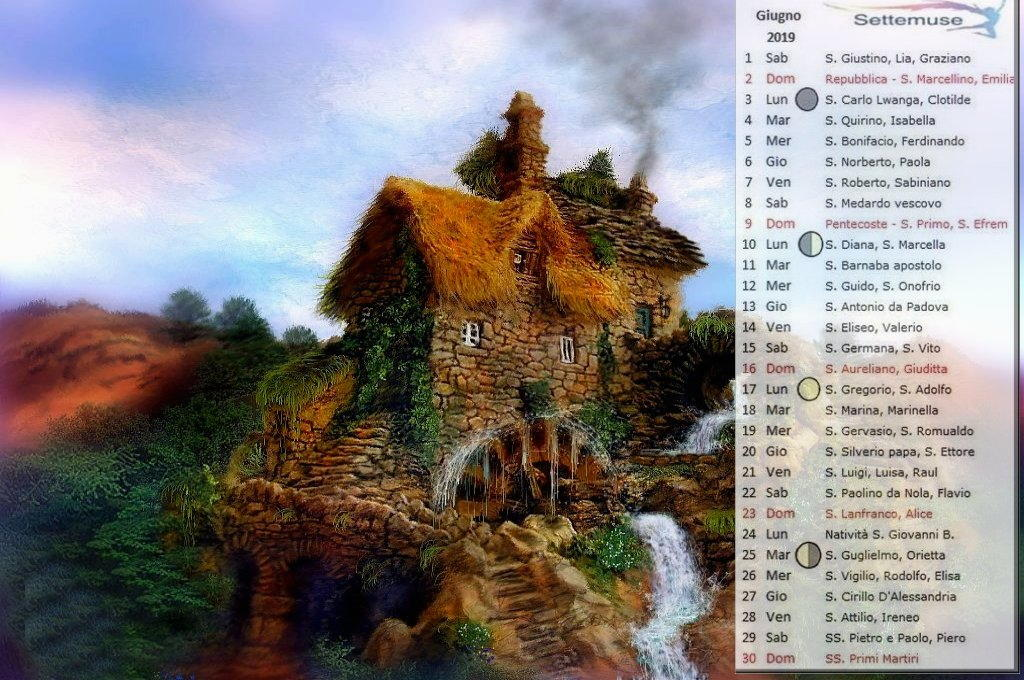 calendario digital art 2019 giugno