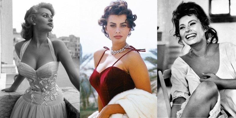 Sophia Loren nella sua vita