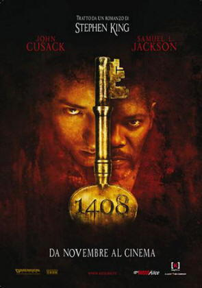 """Locandina del film """"1408"""""""