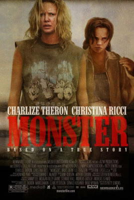 Charlize Theron locandina Monster