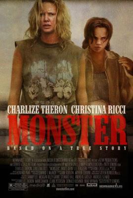 Charlize Theron locandina Monster