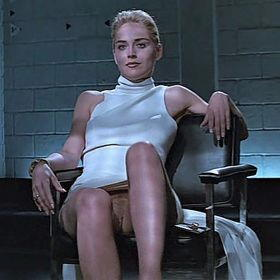 Sharon Stone in Base Instint
