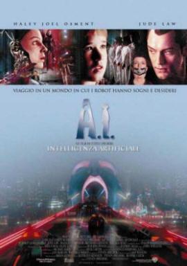 Locandina del film A.I.