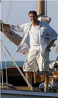 Gerard Butler nel film Alla ricerca dell'isola di Nim