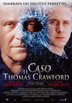 Anthony Hopkins nel film Il caso Thomas Crawford