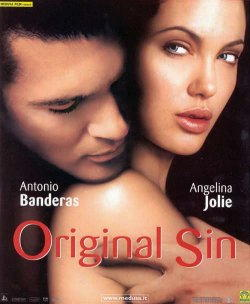 Antonio Banderas con Angelina Jolie in Original sign