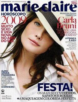 Carla Bruni su Marie Claire