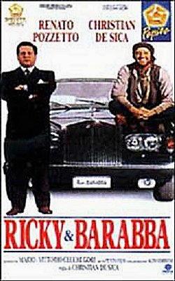 Christian De Sica nel film Ricky e Barabba