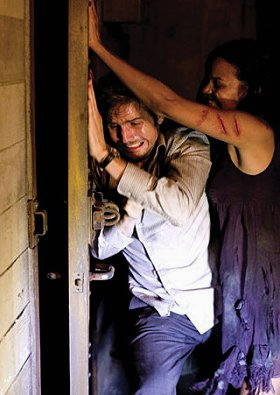 Una scena del film Cloverfield