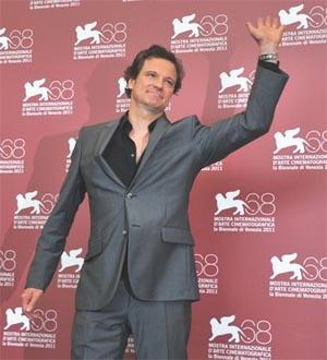 Colin Firth alla Mostra del cinema di Venezia