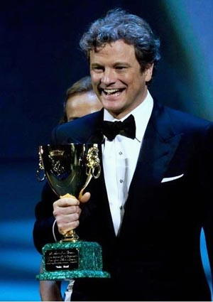 Colin Firth: premi e riconoscimenti