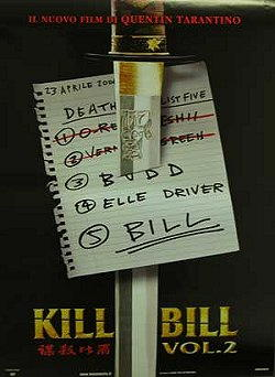 David Carradine nel film Kill Bill II