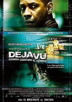 Dejavu locandina con Denzel Washington