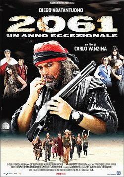 Diego Abatantuono locandina film 2061 un anno eccezionale