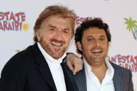 Enrico Brignano e Gigi Proietti