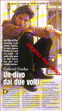 Biografia Gabriel Garko