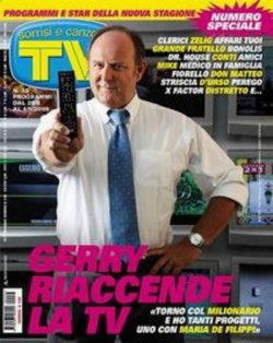 Gerry Scotti in copertina