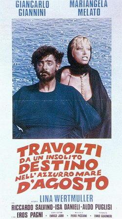 Giancarlo Giannini nel film Travolti da un insolito destino...