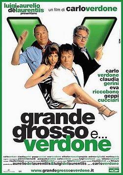 Grande Grosso e Verdone interpretato da Claudia Gerini