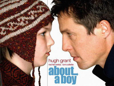 Hugh Grant: locandina film About a Boy