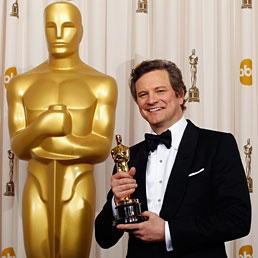 Colin Firth oscar Il discorso del re