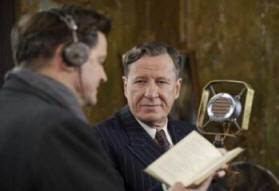 Geoffray Rush e Colin Firth Il Discorso del Re
