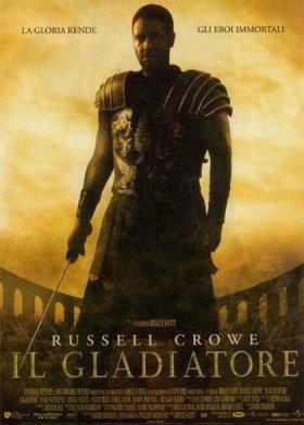 """Locandina del film """"Il Gladiatore"""""""