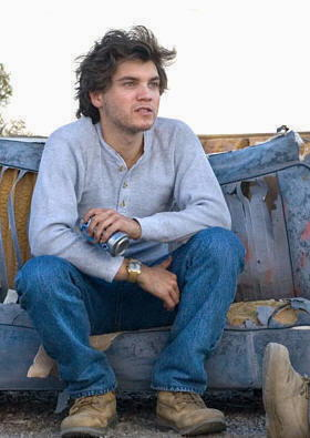 """Emile Hirsch in """"Into the wild"""""""
