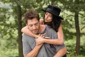 Javier Bardem e la moglie Penelope Cruz